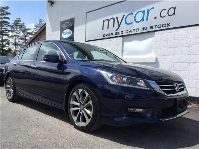 2015 Honda Accord Sport (Stk: 190004) in North Bay - Image 1 of 22