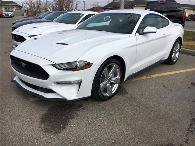 2019 Ford Mustang EcoBoost (Stk: K-04) in Calgary - Image 1 of 5