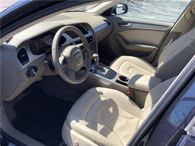 2012 Audi A4 2.0T Premium Plus (Stk: -) in Ottawa - Image 8 of 33