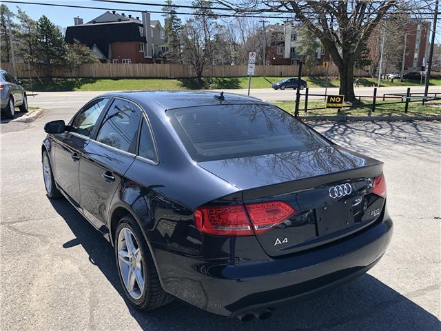 2012 Audi A4 2.0T Premium Plus (Stk: -) in Ottawa - Image 17 of 33