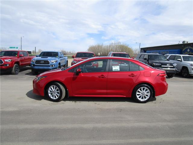 2020 Toyota Corolla LE (Stk: 208001) in Moose Jaw - Image 2 of 37