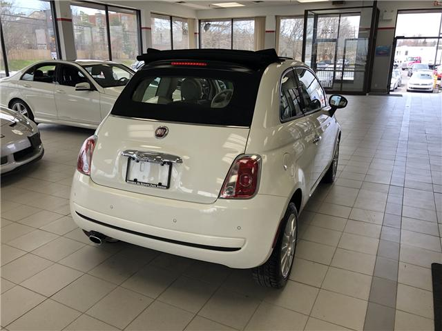2012 Fiat 500C Pop (Stk: ) in Ottawa - Image 4 of 20