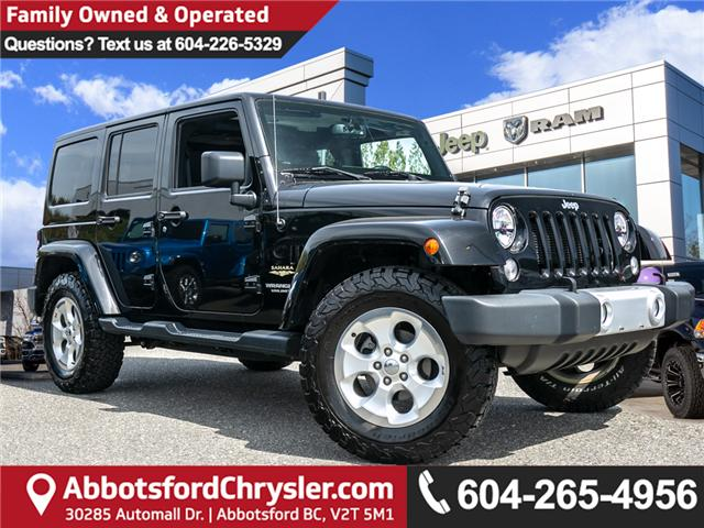 2015 Jeep Wrangler Unlimited Sahara (Stk: AG0936) in Abbotsford - Image 1 of 22