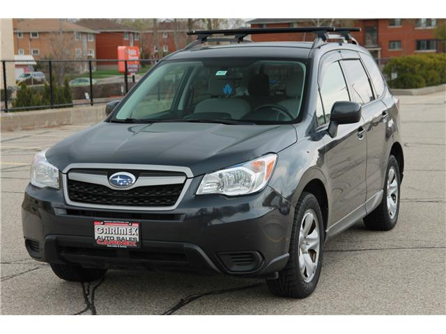 2015 Subaru Forester 2.5i (Stk: 1903094) in Waterloo - Image 1 of 26