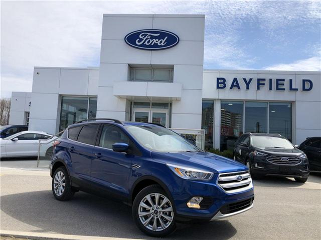 2019 Ford Escape SEL (Stk: ES19541) in Barrie - Image 1 of 27