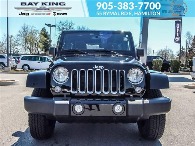 2017 Jeep Wrangler Unlimited Unlimited Sahara (Stk: 197615A) in Hamilton - Image 2 of 23