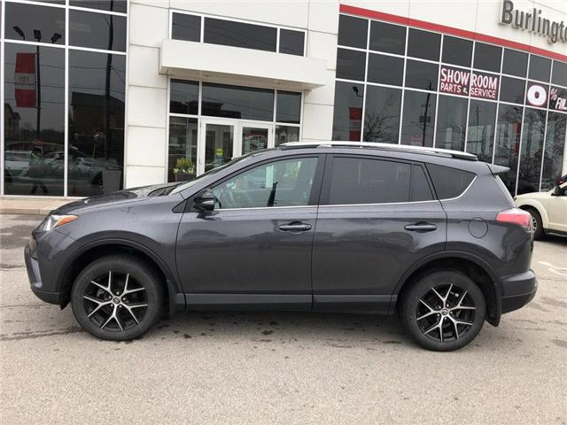 2017 Toyota RAV4 SE (Stk: U10664) in Burlington - Image 2 of 20
