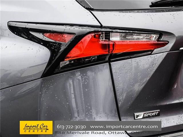 2016 Lexus NX 200t Base (Stk: 094044) in Ottawa - Image 8 of 30