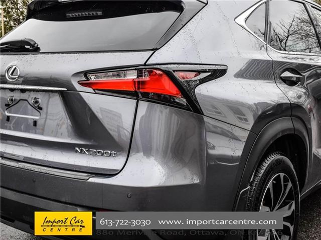 2016 Lexus NX 200t Base (Stk: 094044) in Ottawa - Image 10 of 30