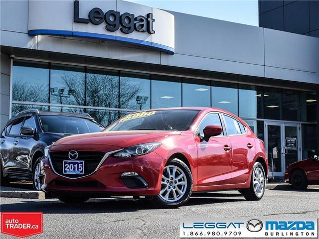 2015 Mazda Mazda3 GS-HEATED SEATS, BLUETOOTH, REAR CAMERA, ALLOYS (Stk: 1817LT) in Burlington - Image 1 of 22