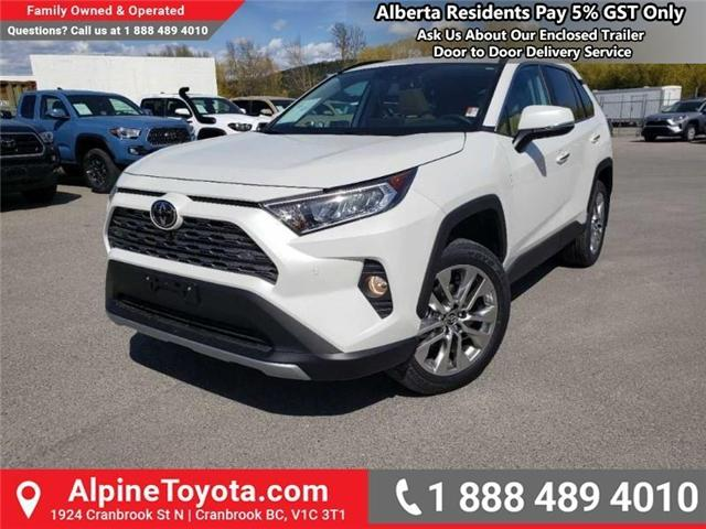 2019 Toyota RAV4 Limited (Stk: W032449) in Cranbrook - Image 1 of 17
