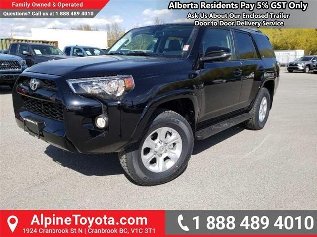 2019 Toyota 4Runner SR5 (Stk: 5691912) in Cranbrook - Image 1 of 17
