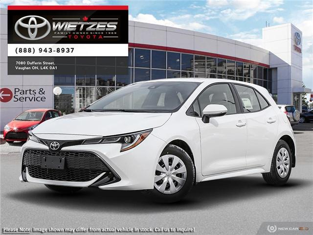 2019 Toyota Corolla Hatchback CVT (Stk: 68667) in Vaughan - Image 1 of 24