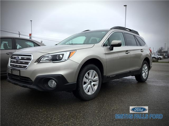 2015 Subaru Outback 2.5i Touring Package (Stk: 1924A) in Smiths Falls - Image 1 of 6