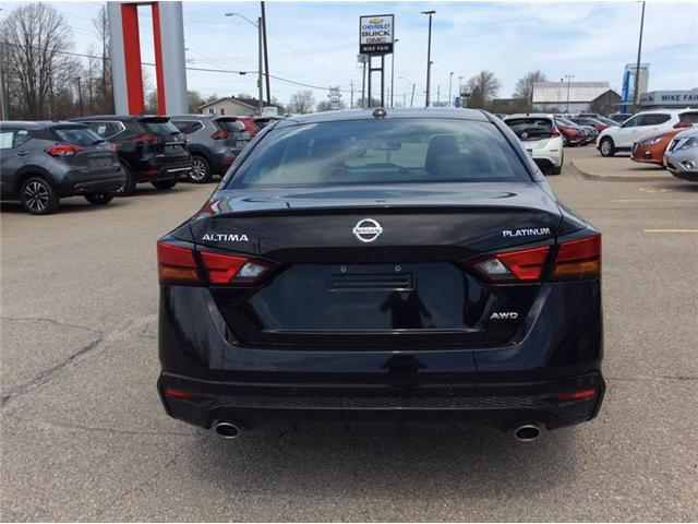 2019 Nissan Altima 2.5 Platinum (Stk: 19-104) in Smiths Falls - Image 10 of 13
