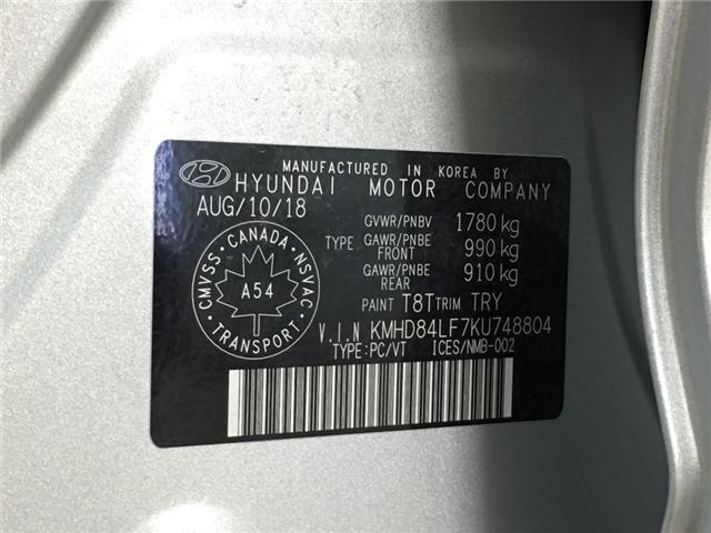 2019 Hyundai Elantra Luxury (Stk: 34900EW) in Belleville - Image 24 of 28