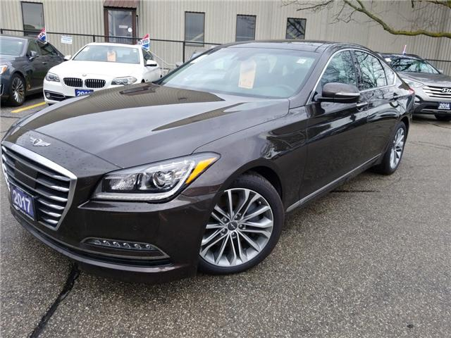 2017 Genesis G80 3.8 Luxury (Stk: OP9917) in Mississauga - Image 1 of 26