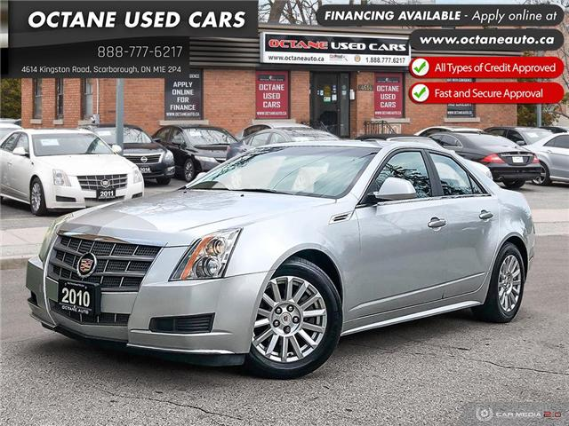 2010 Cadillac CTS 3.0L (Stk: ) in Scarborough - Image 1 of 23