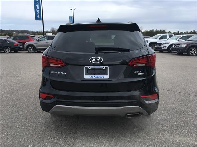 2018 Hyundai Santa Fe Sport 2.4 Premium (Stk: 18-30559RJB) in Barrie - Image 6 of 28