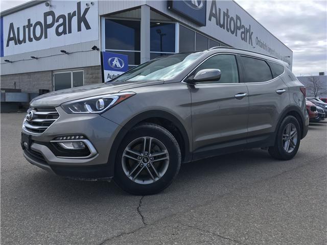 2018 Hyundai Santa Fe Sport 2.4 Luxury (Stk: 18-91094RJB) in Barrie - Image 1 of 30