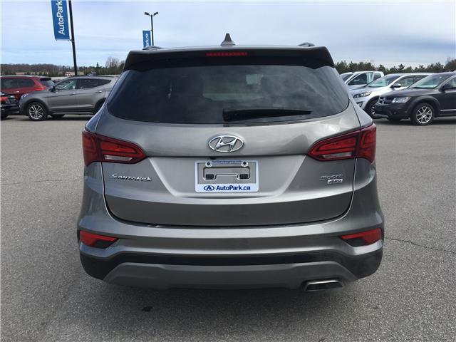 2018 Hyundai Santa Fe Sport 2.4 Luxury (Stk: 18-91094RJB) in Barrie - Image 6 of 30