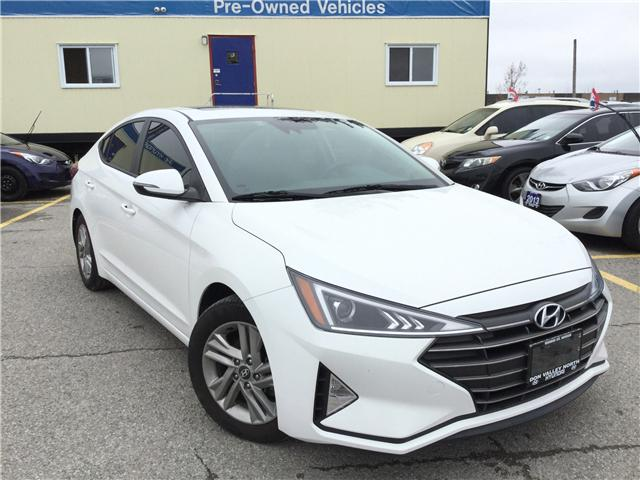 2019 Hyundai Elantra Preferred (Stk: 7704H) in Markham - Image 1 of 16