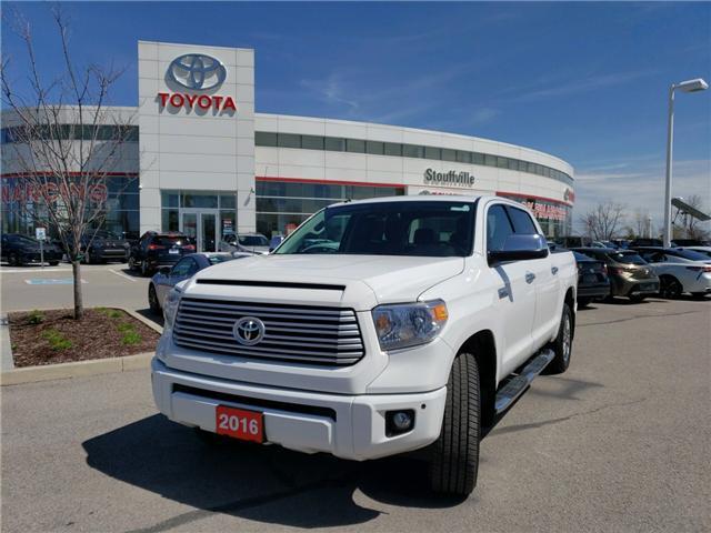 2016 Toyota Tundra Platinum 5.7L V8 (Stk: P1798) in Whitchurch-Stouffville - Image 1 of 21