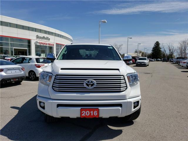 2016 Toyota Tundra Platinum 5.7L V8 (Stk: P1798) in Whitchurch-Stouffville - Image 2 of 21