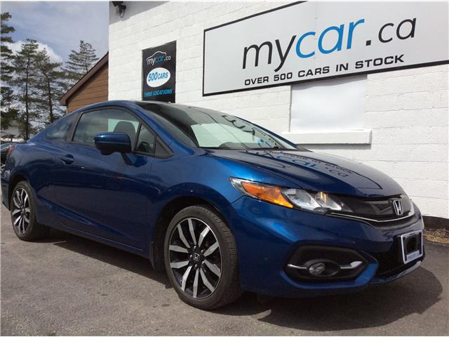 2015 Honda Civic EX-L Navi (Stk: 190538) in Richmond - Image 1 of 18