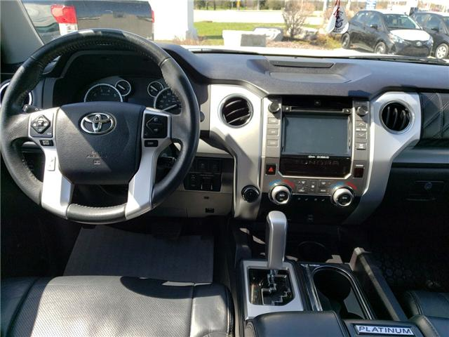 2016 Toyota Tundra Platinum 5.7L V8 (Stk: P1798) in Whitchurch-Stouffville - Image 7 of 21