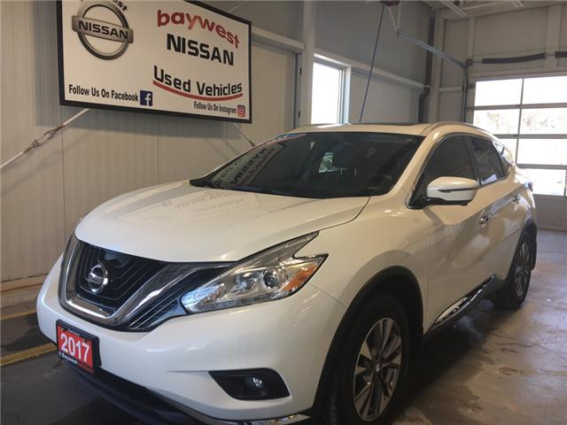 2017 Nissan Murano SL (Stk: P0669) in Owen Sound - Image 1 of 12