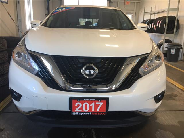 2017 Nissan Murano SL (Stk: P0669) in Owen Sound - Image 2 of 12