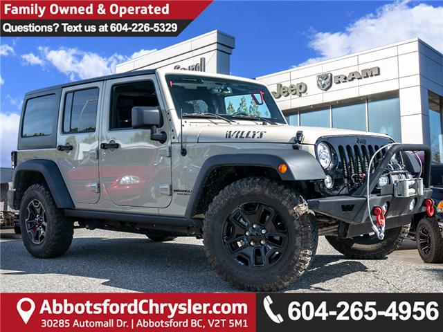 2017 Jeep Wrangler Unlimited Sport (Stk: AB0852) in Abbotsford - Image 1 of 24