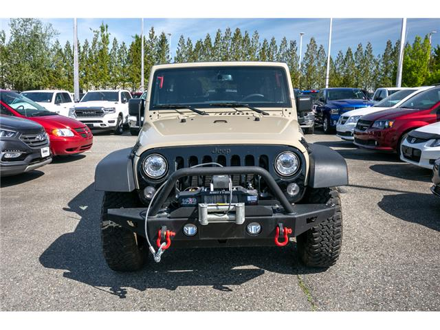 2017 Jeep Wrangler Unlimited Sport (Stk: AB0852) in Abbotsford - Image 2 of 24