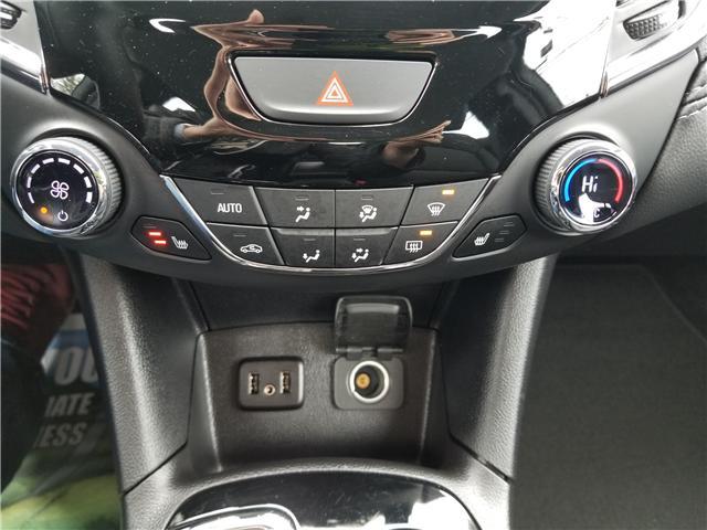 2019 Chevrolet Cruze Premier (Stk: ) in Kemptville - Image 11 of 18