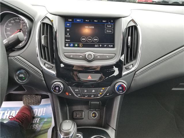 2019 Chevrolet Cruze Premier (Stk: ) in Kemptville - Image 9 of 18