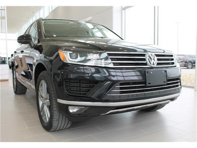 2015 Volkswagen Touareg 3.0 TDI Highline (Stk: V7142) in Saskatoon - Image 1 of 22