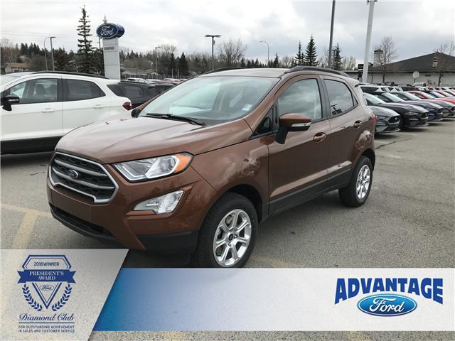 2019 Ford EcoSport SE (Stk: K-497) in Calgary - Image 1 of 5