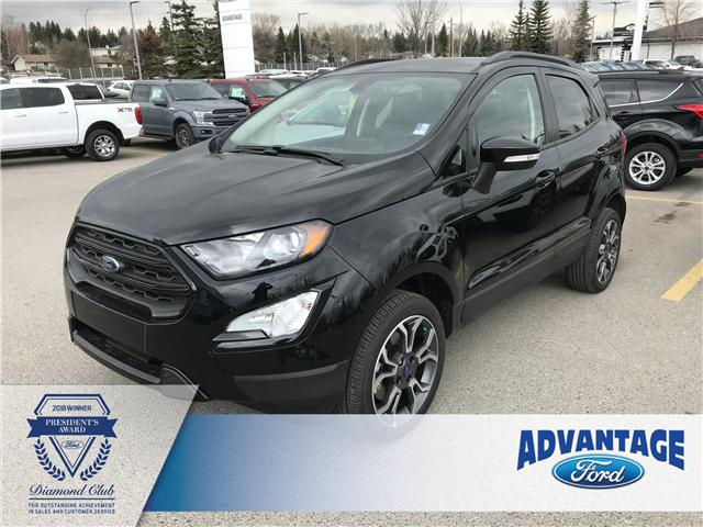 2019 Ford EcoSport SES (Stk: K-498) in Calgary - Image 1 of 5