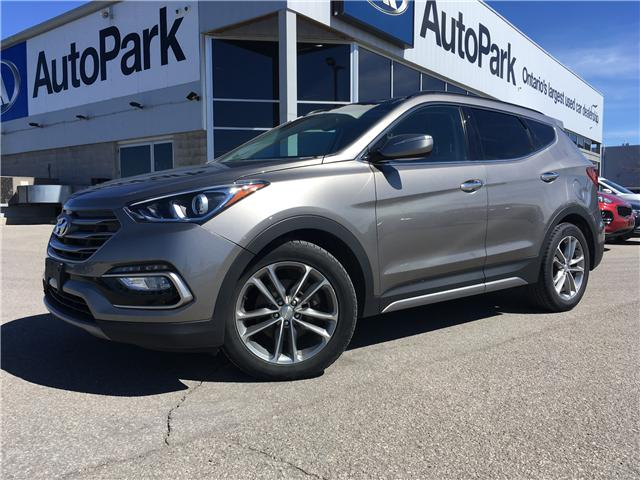 2017 Hyundai Santa Fe Sport 2.0T Limited (Stk: 17-07017RJB) in Barrie - Image 1 of 30