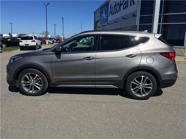 2017 Hyundai Santa Fe Sport 2.0T Limited (Stk: 17-07017RJB) in Barrie - Image 8 of 30