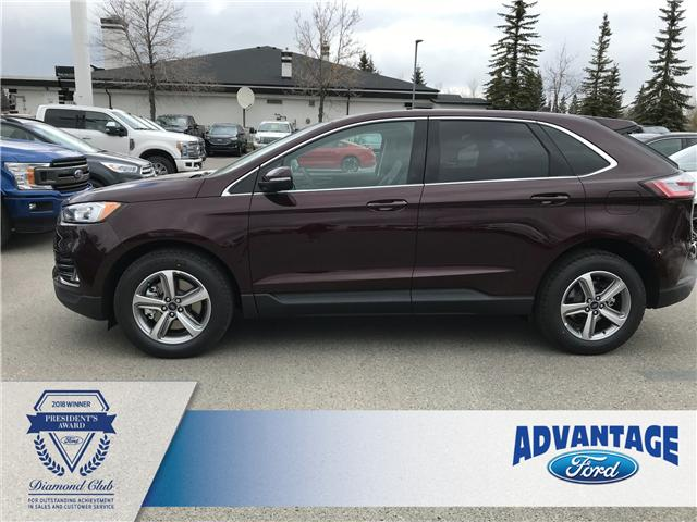 2019 Ford Edge SEL (Stk: K-1076) in Calgary - Image 2 of 5