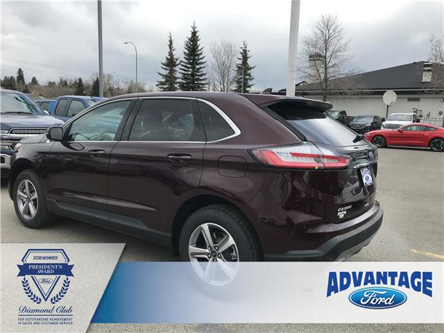 2019 Ford Edge SEL (Stk: K-1076) in Calgary - Image 3 of 5