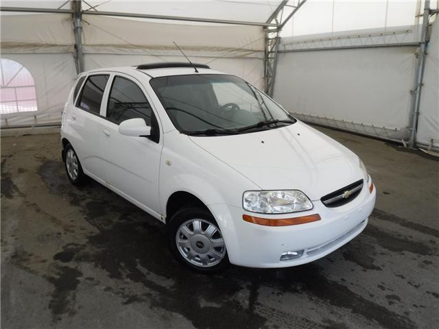 2005 Chevrolet Aveo 5 LT (Stk: ST1697) in Calgary - Image 1 of 11