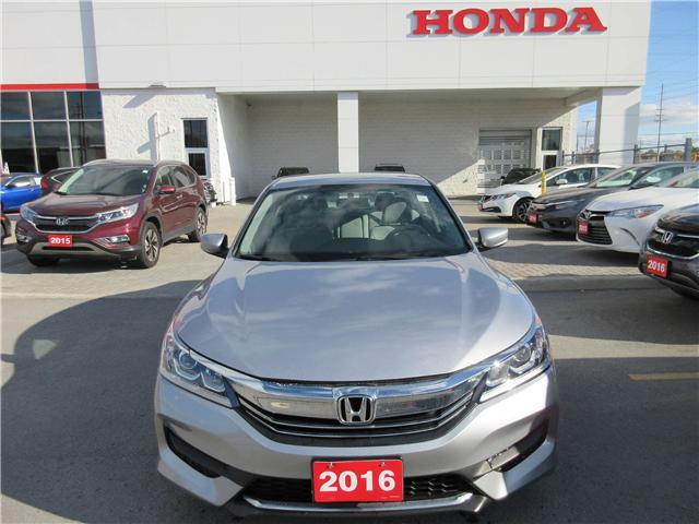 2016 Honda Accord LX (Stk: 26796L) in Ottawa - Image 1 of 13