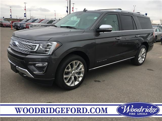 2019 Ford Expedition Max Platinum (Stk: K-1487) in Calgary - Image 1 of 5