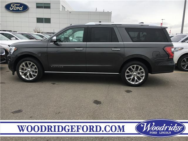 2019 Ford Expedition Max Platinum (Stk: K-1487) in Calgary - Image 2 of 5