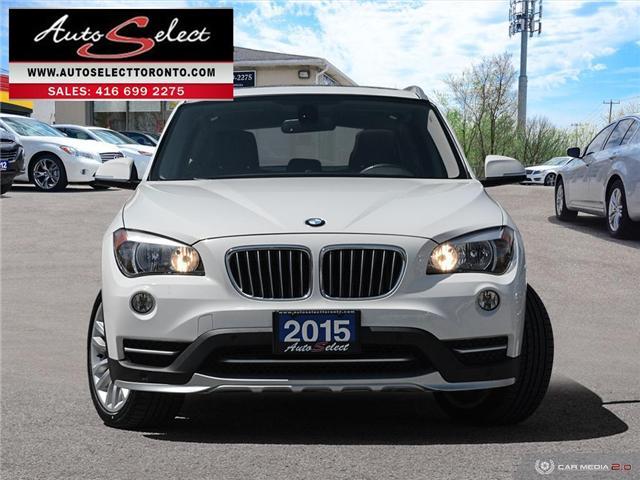 2015 BMW X1 xDrive28i (Stk: 1QX1PLW) in Scarborough - Image 2 of 28