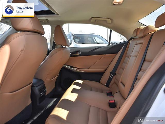 2017 Lexus IS 300 Base (Stk: Y3398) in Ottawa - Image 25 of 29