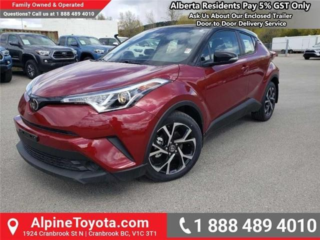 2019 Toyota C-HR XLE Premium Package (Stk: 1037729) in Cranbrook - Image 1 of 15